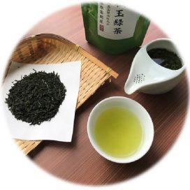 Tamaryokucha - Kabusecha Blended - 2021 - Leaf and Tea Color