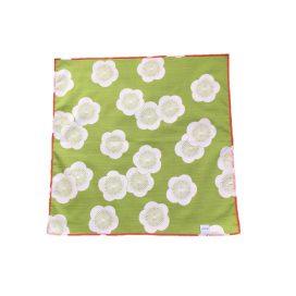 Gift Wrapping Cloth - Reversible Furoshiki - Isa Monyo - Plum - Red & Green - Back